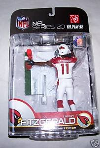 20 action McFarlane Toys Cardinals de l'Arizona Larry Fitzgerald vague 1 Series Figure