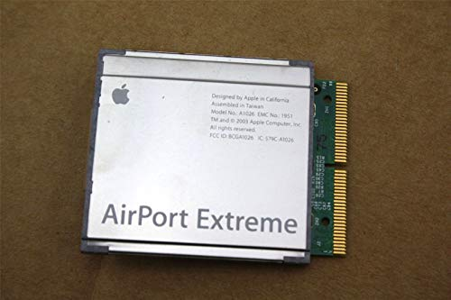 (AirPort Extreme WiFi Card A1026 A1027 for APPLE iBook iMac PowerMac PowerBook G4)