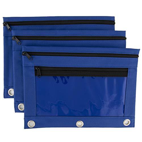 (Trusty - Pencil Pouch - Cobalt Blue - 2 Pack)