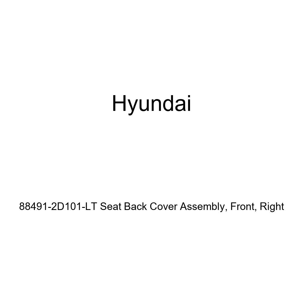 Front Genuine Hyundai 88491-2D101-LT Seat Back Cover Assembly Right