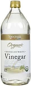 Spectrum Naturals Organic White Distilled Vinegar, 32 Ounce