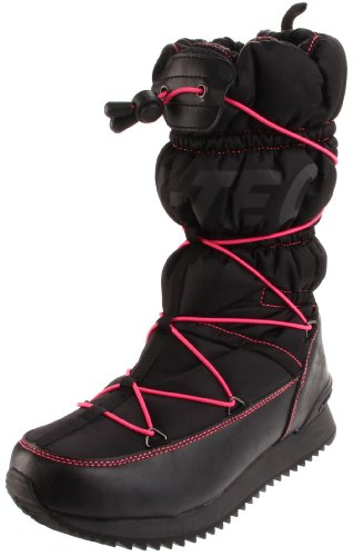 Hi-Tec Women's New Moon 200 Insulated Boot,Black/Melon,7 M US