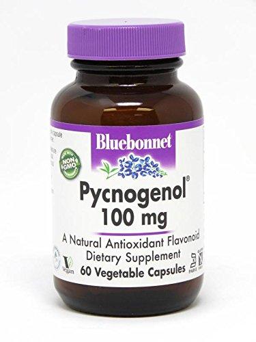 BlueBonnet Pycnogenol Vegetarian Capsules, 100 mg, 60 Count