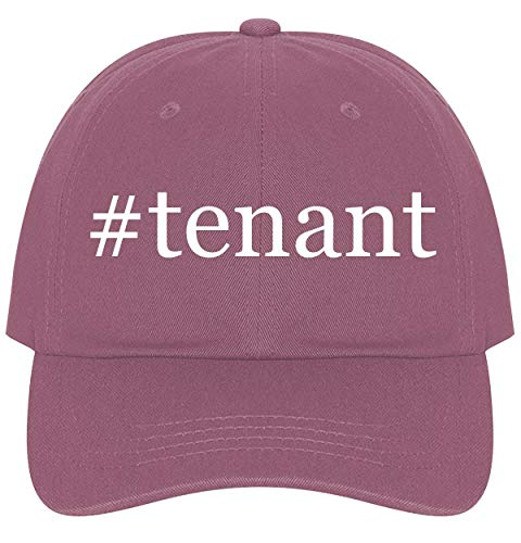 The Town Butler #Tenant - A Nice Comfortable Adjustable Hashtag Dad Hat Cap, Pink