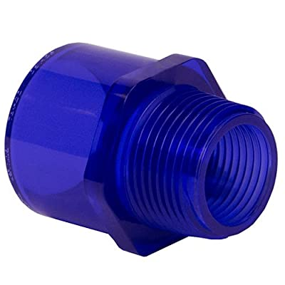 "2"" Socket x MIPT Low Extractable PVC Male Adapter (1 PVC Adapter)"