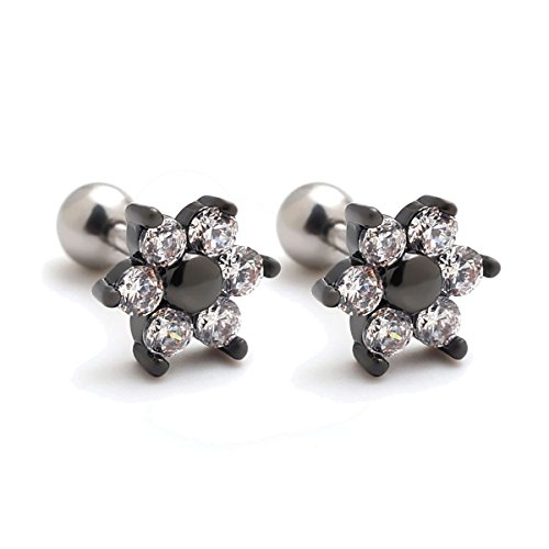 Pieces Cartilage Earrings Auricle Piercings