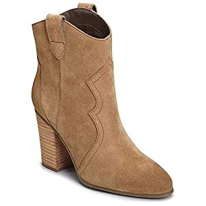 Aerosoles Women's Lincoln Square Ankle Boot, tan Suede, 9 M US