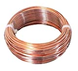 Bare Copper Wire 14 AWG 55 Ft -10 oz Soft Coil