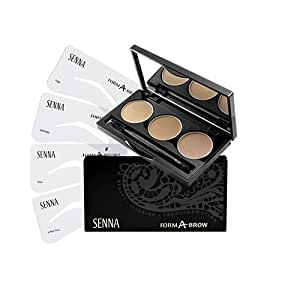 Senna Cosmetics Form-A-Brow Stencil Kit, Neutral