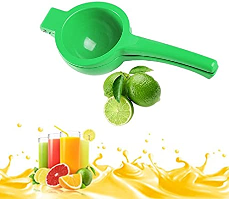 Rust weihpe manual zitruspressen Exprimidor Naranja Prensa de metal para Zumo de limón Naranja Zumo limas Zumo Diámetro 6 cm para Hogar Bar Cocina verde