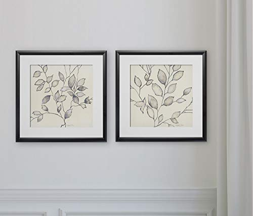 WEXFORD HOME Whispering Leaves -2 Piece Set Art Print, 16X16,