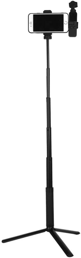 Yifant Mobile Phone Bracket+Tripod+Extension Rod Set Portable Handheld Holder Fixing Clamp Camera Stabilizer for DJI Osmo Pocket