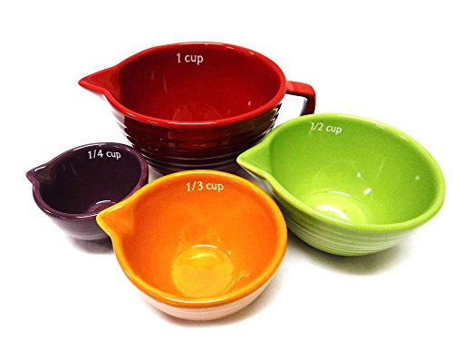 Ceramic Measuring Cup Handle Set product image