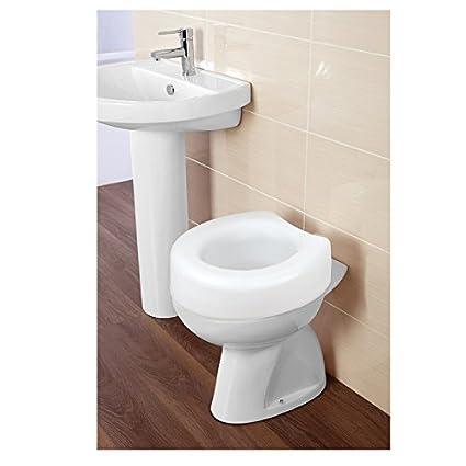 Wondrous Amazon Com Feridras Comfort Raised Toilet Seat Universal Creativecarmelina Interior Chair Design Creativecarmelinacom