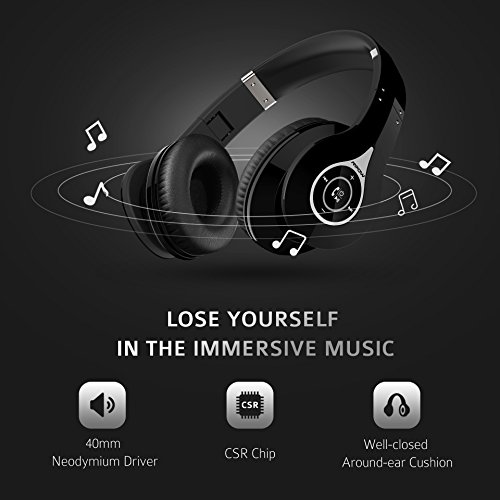 mpow bluetooth headphones how to connect