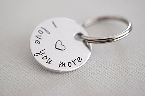 I love you more Keychain (Love Necklace Key)