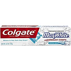 Colgate Max White Crystal Mint Toothpaste, 6.0-Ounce Packages (Pack of 2)