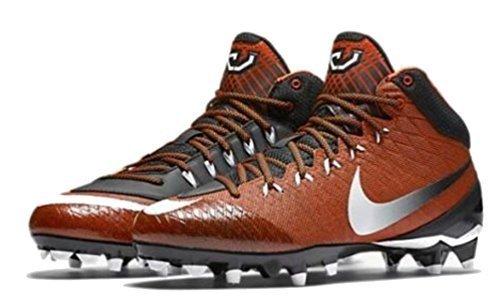Nike Mens Calvin Johnson Megatron CJ3 Pro TD Football Cleat Brown/Black (10)