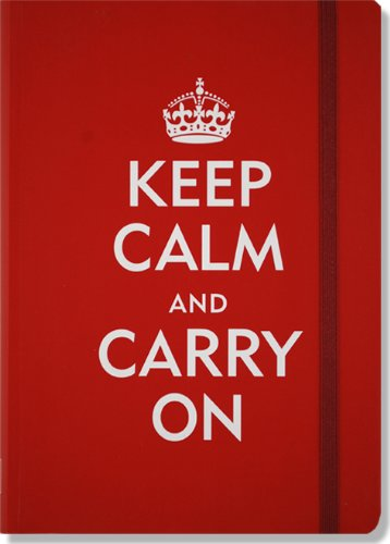Keep Calm and Carry On Journal (Diary, Notebook) (Small Format Journal)
