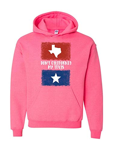 Novelty Funny Gifts Don`t California Our Texas Unisex Hoodie (5XLSP)