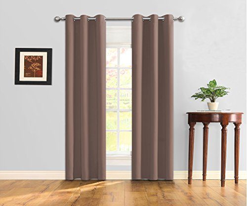 Ifblue Best Room Darkening Thermal Insulated Grommet Window Curtains Blackout Curtains Drapes