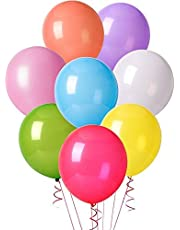 ocballoons - Paquete de 100 globos de látex, 30 cm, colores surtidos, PALL12ASS
