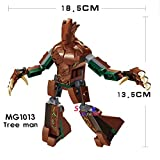 Model Building Blocks Assemble Bricks Sets Tree Man Marvel Avengers Figure Giantman Antman Gift Super Heroes Toys for Children MG1013