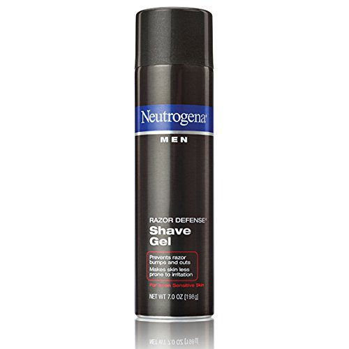 Neutrogena Men Razor Defense Shave Gel, 7.0 oz (Pack of 3)