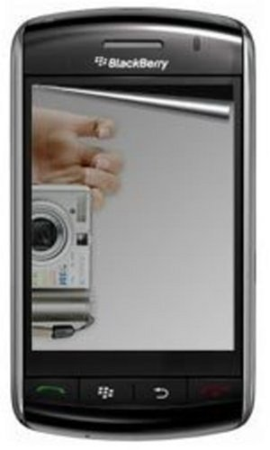 Amzer Mirror Screen Protector with Cleaning Cloth for BlackBerry Storm 9530/9500 ()