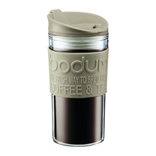 Bodum 11103-133B Travel Mug, 0.35 L/12 oz, Sand