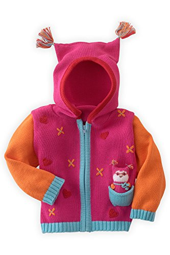 Joobles Organic Baby Cardigan Sweater - Jody the Owl (0-6 Months) by Joobles