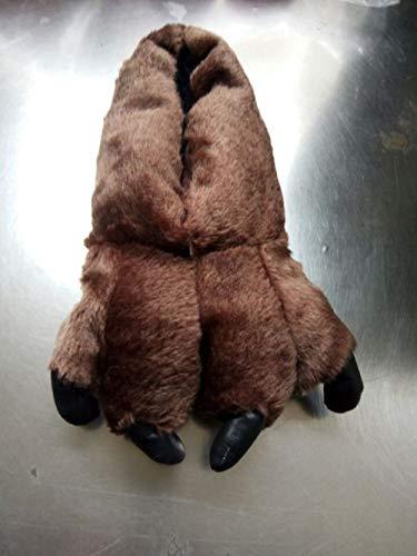 Interno 30cm Pantofole Jia Cotone E Brown 30cm 40 Da Hong A In 45 Stampa brown 45 Stile 40 Zampa Unita Tinta Esplosivo qtqwST5
