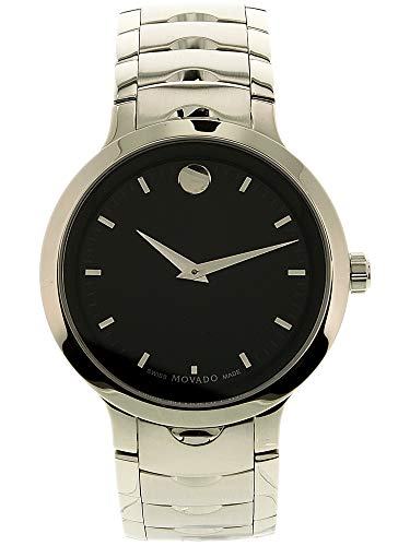 Movado Luno 0607041 Silver Stainless-Steel Swiss Quartz Fashion Watch