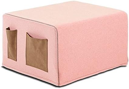 sdm Puff Cama Pocket Tela Rosa: Amazon.es: Hogar