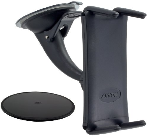 (ARKON Windshield or Dash Car Mount Holder for iPhone Xs Max XS XR X and iPad Mini Retail Black)