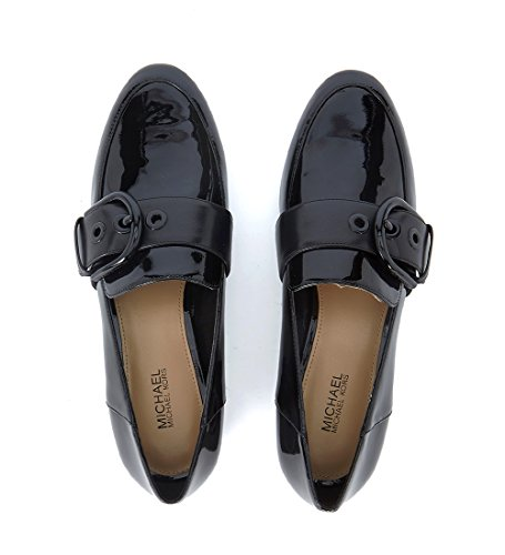 SLIPPER COPPER NERO FIBBIA - 40