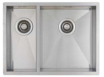 Lavello per cucina in acciaio inox inossidabile / lavandino MIZZO ...