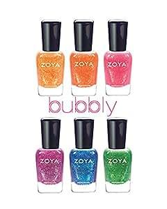 Amazon.com: Zoya Tickled and Bubbly Summer 2014 Nail