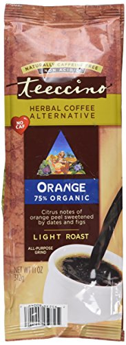 Teeccino Herbal Coffee, Orange (Formerly Original), 11-Ounce Bags (Pack of 3)