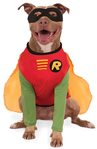 Pet Robin Costumes (DC Comics Robin Big Dog Boutique, XXX-Large)