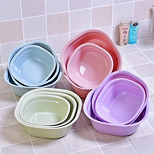 Cuadrado espesante cuenca beb/é ba/ño lavabo cocina pl/ástico lavabo grande ba/ño lavabo