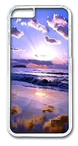 ACESR Cloud Sunrise Stylish iPhone Case PC Hard Case Back Cover for Apple iphone 5C inch