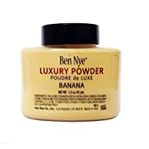 Authentic Ben Nye Luxury Banana Powder 1.5 oz Bottle Face Makeup Kim Kardashian