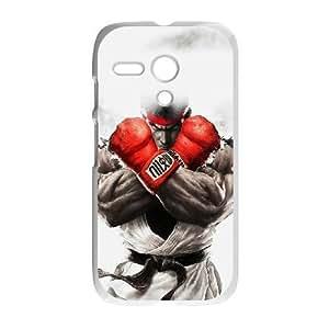 Motorola G phone case White street fighter ryu JJH8196054