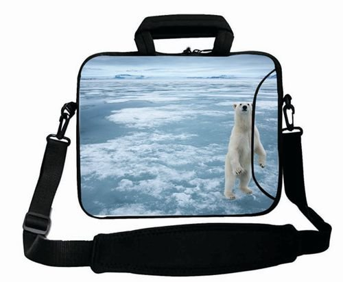 Customized with ( Animals bear animalS white ice snow ) Shoulder Bag Good For Boy's (15