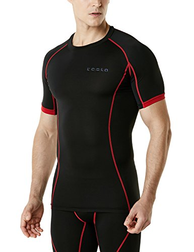 Tesla-Mens-Cool-Dry-Compression-Baselayer-Short-Sleeve-T-Shirts-MUB13MUB23