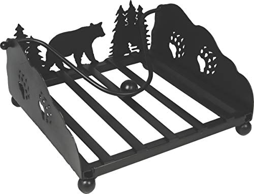 - River's Edge Products Lazer Cut Bear Napkin Holder