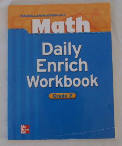 Daily Enrich Workbook, Grade 2, Math -  none listed, Paperback