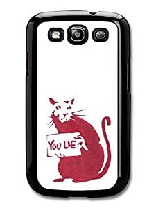 AMAF ? Accessories Banksy Don't Lie case for Samsung Galaxy S3 Street Art