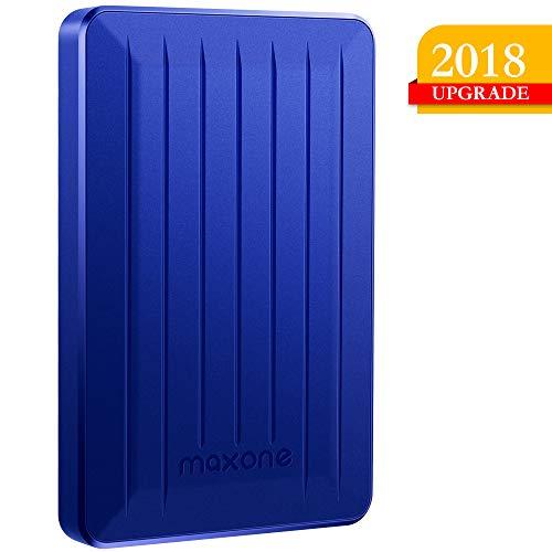 160GB/320GB Portable External Hard Drive- 2.5 Inch External Hard Drives for Laptop,Desktop,Xbox one,PS4,Wii U,MacBook,Chormebook (320GB, Blue) … (320GB, Blue)